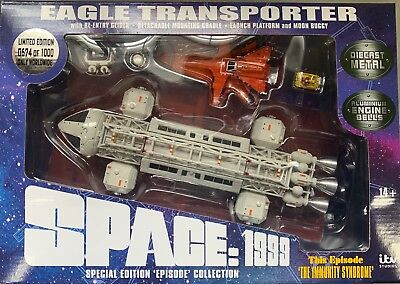 Space 1999 - DIE CAST EAGLE SET 2: THE IMMUNITY SYNDROME  - Sixteen 12