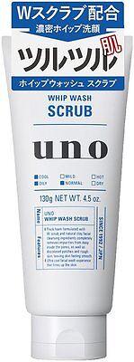 Shiseido Japan UNO Whip Wash Scrub Face Wash 130g
