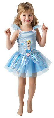 CINDERELLA DISNEY PRINCESS BALLERINA FANCY DRESS (Disney Cinderella Ballerina Kostüm)