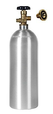 5 lb CO2 Cylinder New Aluminum Leak Stopper - Draft Beer Homebrew  Free Shipping