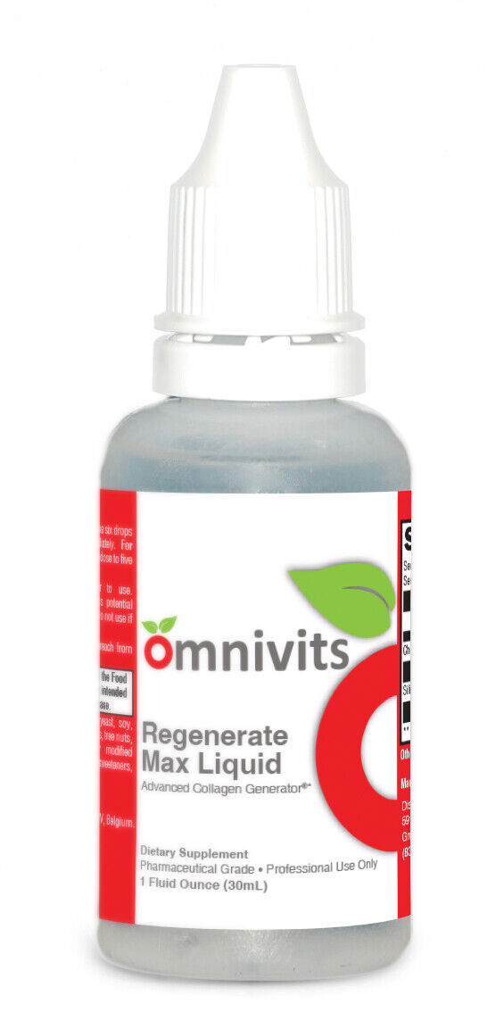Regenerate Max Liquid Collagen Generator Omnivits (1fl oz)