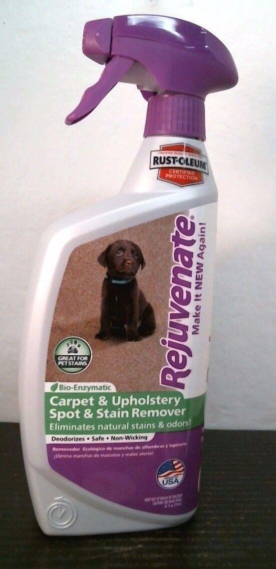 Rejuvenate Bio-Enzymatic Carpet & Upholstery Spot & Stain Re