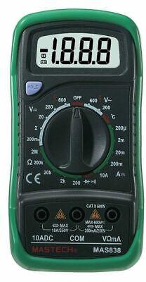 Mastech Mas-838 Digital Multimeter 170g