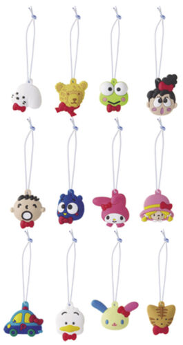Sanrio Hello Kitty 12pc Blue Trinkets 50th Anniversary Kerropi Pekkle Usahana