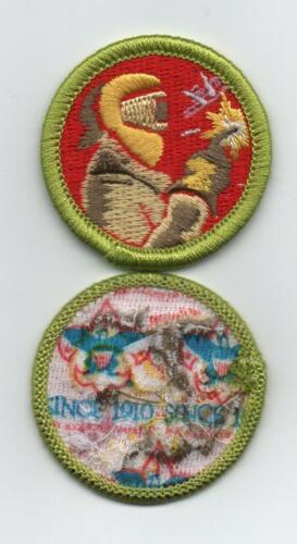 "Welding Merit Badge, Type L, ""Since 1910"" Backing, Mint!"