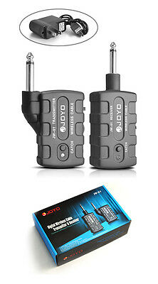 Joyo JW-01 Digital Wireless Transmitter and Receiver Pickup for Electric Guitar