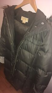 Michael Kors quilted parka
