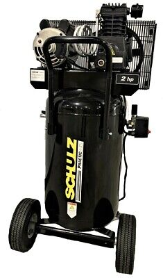 Schulz Air Compressor - 2hp 1ph 110v 145psi 24gal Vertical Portable