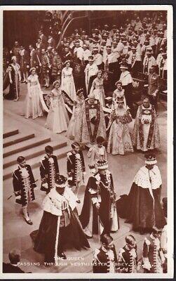 POST CARD.QUEEN ELIZABETH CORONATION DAY 1953, SOUVENIER REAL PHOTO CARD