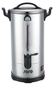Saro Rundfilter Kaffeemaschine 40 Tassen mit Dauerfilter Großmengenbrüher 5,1 L