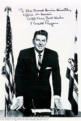 Ronald Reagan ++Autogramm++ ++US Präsident++