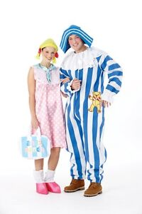 FANCY DRESS COSTUME ~ ANDY PANDY - LOOBY LOU SM 8-10