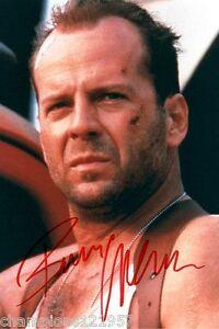 Bruce Willis ++Autogramm++ ++Stirb langsam++