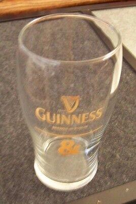 "Guinness Brewed in Dublin pint glass 6.1"" tall"