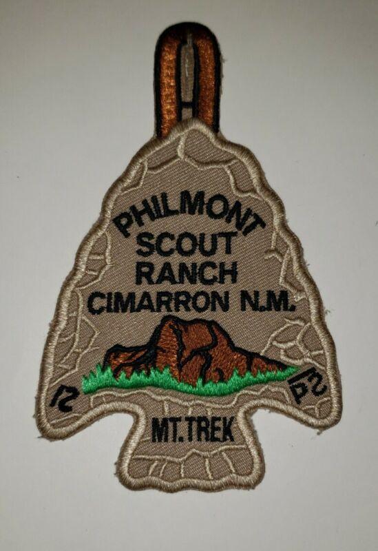 Boy Scout Philmont Scout Ranch PSR Mountain Mt Trek Arrowhead Patch