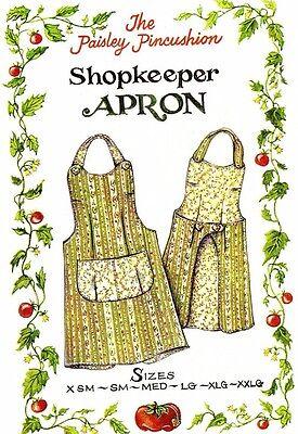 Shopkeeper Apron pattern by the Paisley Pincushion