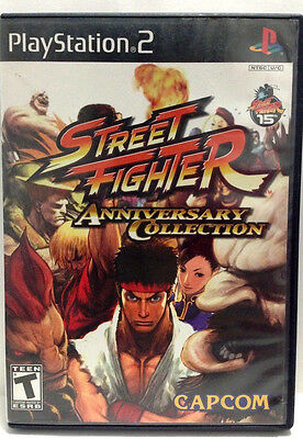 Street Fighter Anniversary Collection  Sony Playstation 2  2004