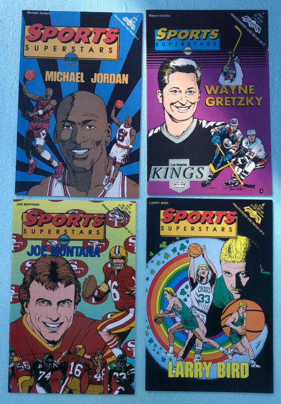 Sports Superstars - Lot Of 16