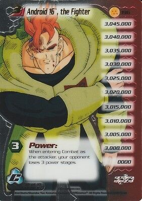 Dragon Ball Z Android 16 The Fighter TRADING CARD GAME CELL SAGA LIMITED EDITION