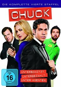 5 DVD Box * Chuck - Staffel/Season 4 * NEU OVP