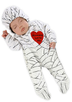 Mummy Loves Me Baby Mummy Costume for Newborns & Infants by Princess - Mummy Princess Costume