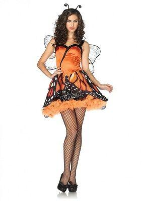 IAL Leg Avenue 83817 Kostüm Schmetterling Butterfly Lovely Monarch Tier - Monarch Schmetterling Kostüm