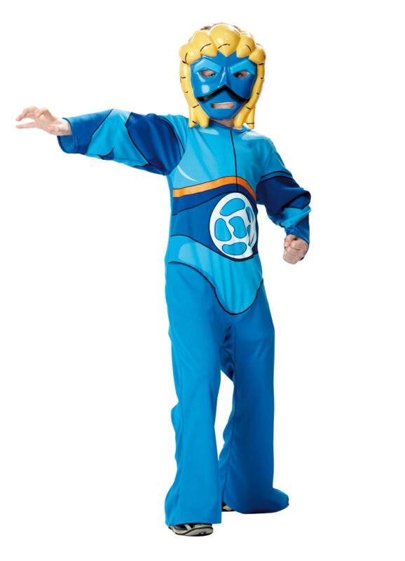 FANCY DRESS COSTUME ~ GORMITI TOBY LORD OF THE SEA LARGE AGE 7-8