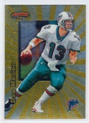 DAN MARINO 1998 Bowman's Best FOIL #80 Miami Dolphins QUARTERBACK (Miami Dolphins Best Quarterback)