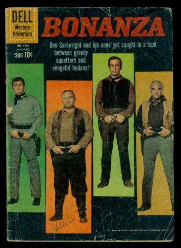 Dell Four Color Comics #1110 BONANZA #1 GD 2.0