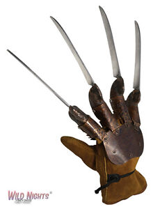 HALLOWEEN FANCY DRESS DELUXE GENUINE OFFICIAL FREDDY KRUEGER GLOVE