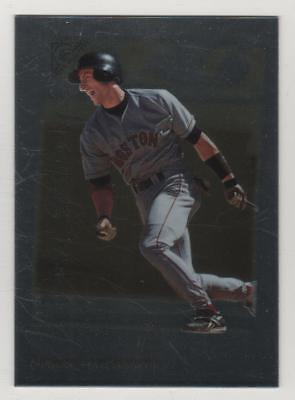 1998 Topps Gallery Photo Gallery #07 Nomar Garciaparra Red Sox BV$1.50 Insert - Red Gallery Photo