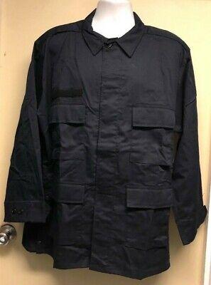 Basic Tactical Shirt (Elbeco Navy Blue Tactical Twill Long Sleeve Basic Duty Uniform Shirt)