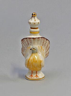 9941123 Porcelain Figurine Ens Snuffbox Parfüm-flakon Pigeon Ens H7cm