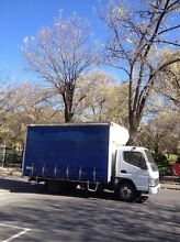 Tailgate Truck Furniture removals / Tail Lift Truck TRANSPORT Melbourne CBD Melbourne City Preview