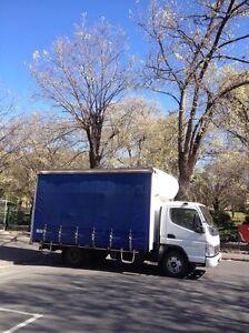 Tailgate/ TailLift  Truck Transport Melbourne Furniture Removals Melbourne CBD Melbourne City Preview