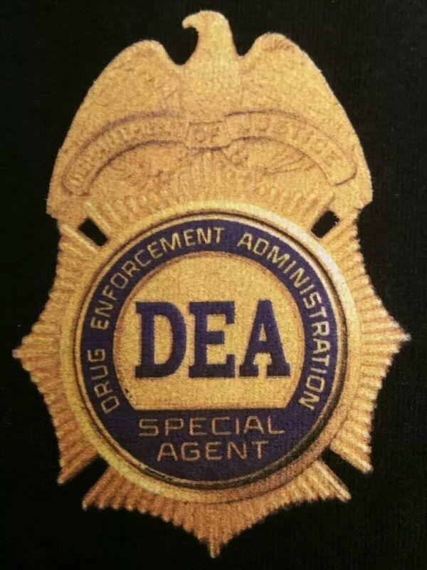 DEA Drug Enforcement Administration DOJ Special agent T-Shirt Sz M NEW NYPD