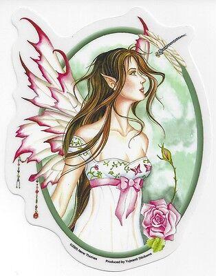 MORNING DEW Fairy Sticker Car Decal Nene Thomas angel butterfly faery faerie