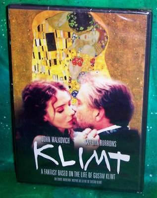 New Rare Oop John Malkovich Saffron Burrows Gustav Klimt Austria Movie Dvd 2006