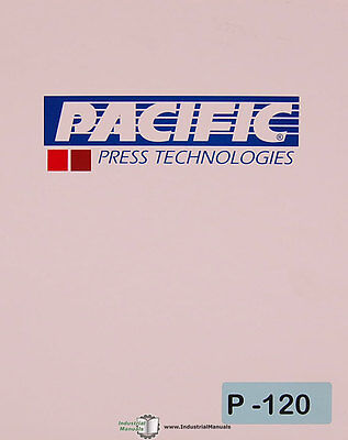 Pacific T Series Shear Installation Maintenance Operation And Parts Manual 1991