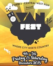 2x tickets to Van Fest Forbes Port Lincoln 5606 Port Lincoln Area Preview
