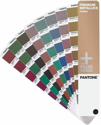 Pantone Premium Metallic Coated Color Guide Book Gg1305