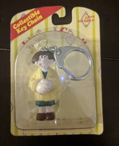 "Wallace & Gromit Rare Collectible Key Chain Sealed On Card 5"" - Wendolene"