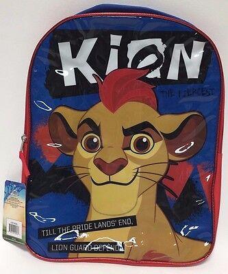 Disney Jungen' Löwe Wächter 40.6cm Rucksack, Blau/Rot