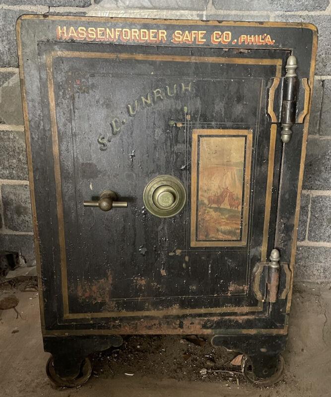 Antique Hassenforder Safe Company Phila. Sargent & Greenleaf Combination Lock