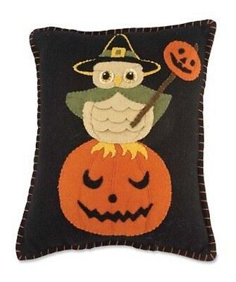 Bethany Lowe - Halloween - Witchy Owl Pillow - RL3608