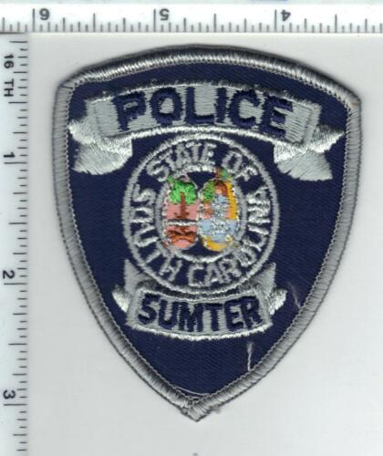 Sumter Police (South Carolina) Cap/Hat Patch new from 1980