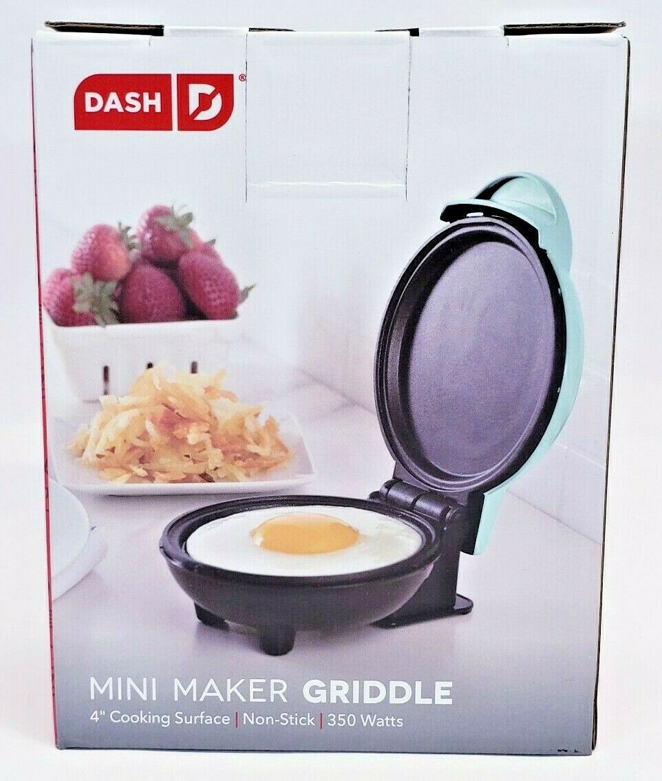 Mini Maker Griddle w/ Non-stick Cooking Plates for Pancakes