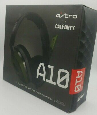 ASTRO Gaming A10 Call of Duty Gaming Stereo Headset For PC / MAC / PS4 / XBOX