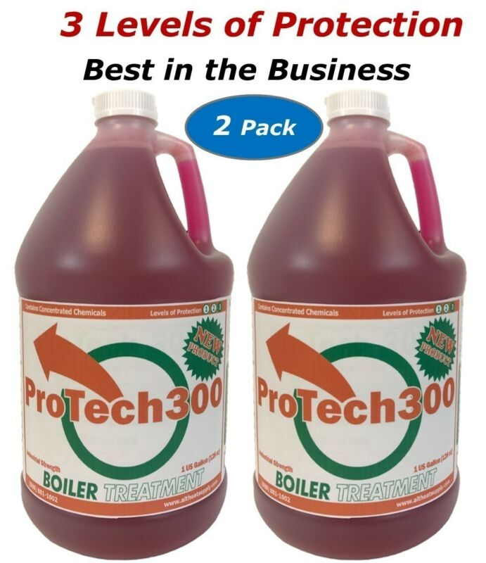 Outdoor Wood Boiler Treatment ProTech300 Rust Inhibitor 2 pack