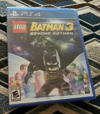 Brand New & Sealed PLAYSTATION 4 PS4 LEGO BATMAN 3: BEYOND GOTHAM Video Game